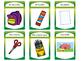 Les Objets de la Salle de Classe- Classroom Objects Vocab in French Card Games