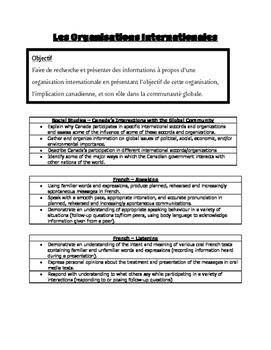 Les Organisations Internationales - International Organizations