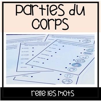 Les Parties du Corps - Relie les mots
