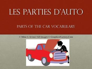 Les Parties de Transportation Vocabulary