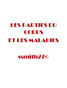 Les Parties du Corps - French Body Parts