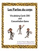 Les Parties du Corps Bundle/Body Parts Bundle (FRENCH)
