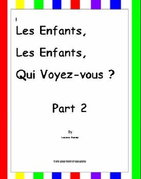 French: Back to School-Face+Body Parts/Letter+Word+Sentenc