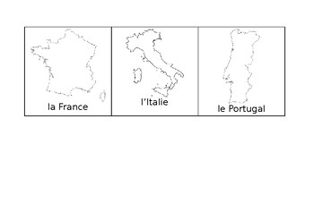Les Pays - Countries around the World