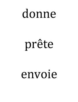 Les Phrases Vivantes:  Living Sentences with Indirect Object Pronouns