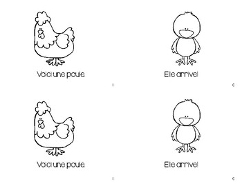 Les Poussins Emergent Book