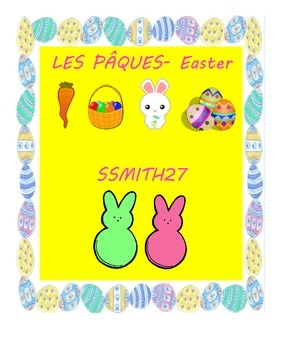 Les Pâques- Easter in French