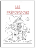 Les Prepositions Booklet