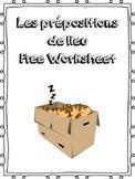 Les prépositions de lieu - Prepositions of Location