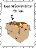 Les Prepositions de lieu-Communication Game for Core French or French Immersion