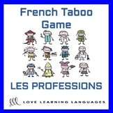 Les Professions - French Taboo Speaking Game - Jeu de Tabo