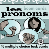 Les Pronoms: French BOOM Cards