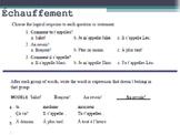 French Subject Pronouns (les pronoms sujets)