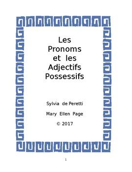 Les Pronoms et les Adjectifs Possessifs
