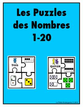 Les Puzzles des Nombres 1-20
