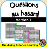 Questions au hasard - French Speaking Game - Version 1