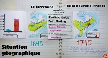Les Seigneuries en Nouvelle-France 1745 / Cahier Interactif