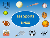 Les Sports Bingo – Sports Vocabulary in French