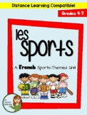 Les Sports - French Sports-Themed Unit for Beginning French Classes (Grades 4-7)