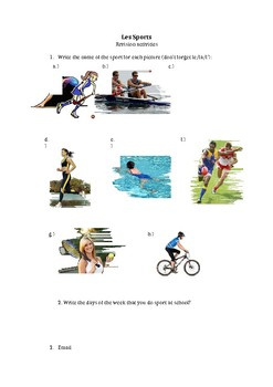 Les Sports - Revision (French)