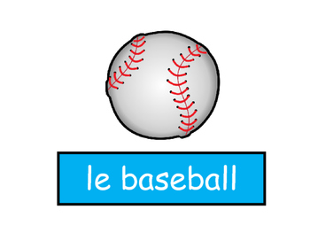 Les Sports Vocabulary Presentation and Games – French Sports Vocabulary