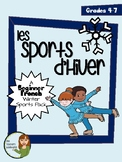 Les Sports d'Hiver - Beginner French Winter Sports Vocabulary Pack (Grade 4-7)