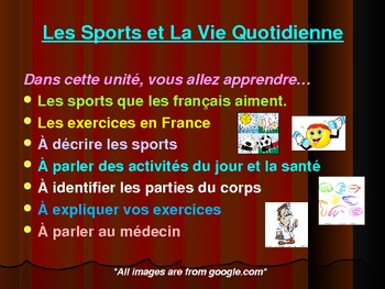 Les Sports et La Vie Quotidienne