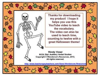 Les squelettes d'halloween!