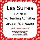 FRENCH Math Centres - Patterning Activities / Les Suites