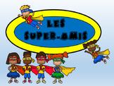 Les Super-Amis-French Super Friends – Reading Comprehensio
