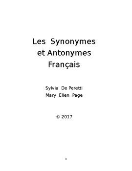 Les Synonymes et les Antonymes Francais