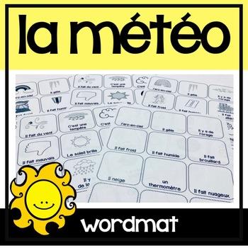La Météo/Le Temps Flashcards