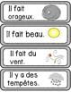 La Météo/Le Temps - Flashcards