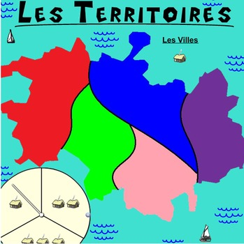 Les Territoires - The Best Smart Notebook Review Game for French Class!
