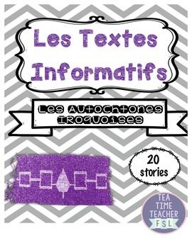 Les Textes Informatifs - Les Autochtones Iroquoises