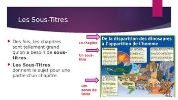 Les Textes Informatifs - Powerpoint