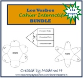 French Verbs Interactive Notebook Bundle