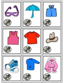 Les Vêtements - Apprenez avec le jeu
