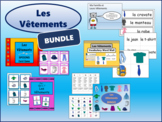 Les Vêtements BUNDLE -The Clothing Vocabulary in French