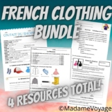 Les Vêtements/Le Shopping Beginner French Bundle