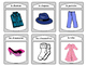 Les Vêtements Spoons Card Game -The Clothing Vocabulary in French
