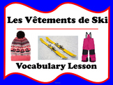 Les Vêtements de Ski (French winter clothing)
