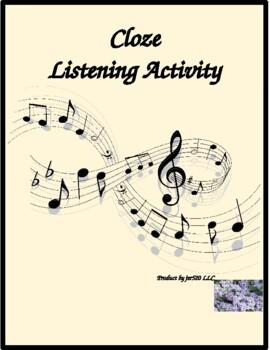 Les Vieux song by Jacques Brel Cloze listening activity