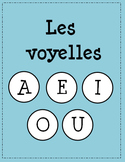 Les Voyelles - A E I O U - Maternelle/Kindergarten - Vowels