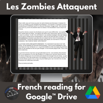 Les Zombies Attaquent -imparfait/passe compose -Google Drive