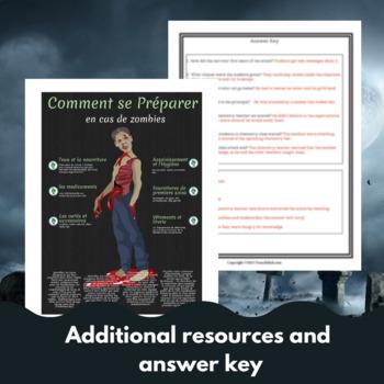Les Zombies Attaquent - imparfait/passe compose - Sub plan!