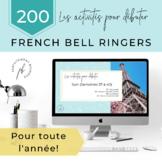 Les activités pour débuter (L'année entière!) / French Bel