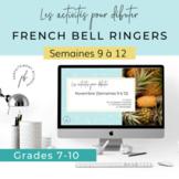French Bell Ringers / Les activités pour débuter (4 semaines)