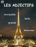 Les adjectifs, grammaire, French Immersion (#106)