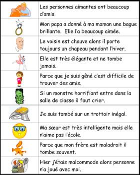 Les adjectifs 5: Je pratique mon vocabulaire {French Vocabulary Practice}